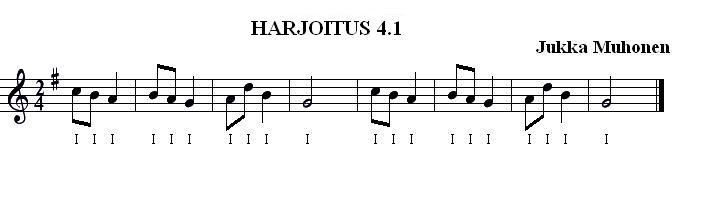 Harjoitus 4.1